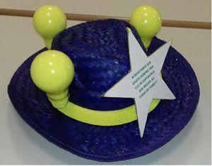 Chapéu-lampadas